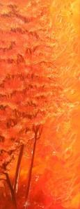 Paysage orange (19.50X50)