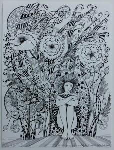 Dessin téléphonique n° 5 ou l'art de la solitude