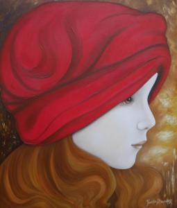 Le bonnet rouge (46X54.5)